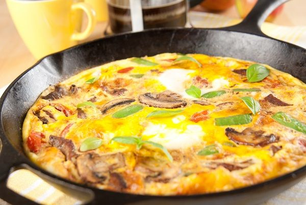 WL Frittata with Vegetables