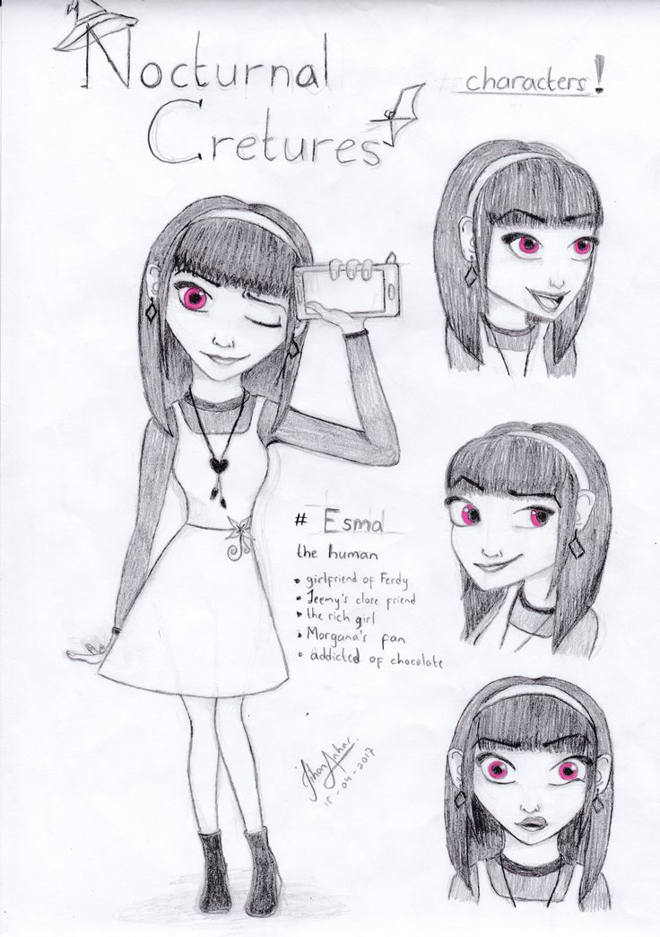 Nocturnal Creatures, meet Esma the human
