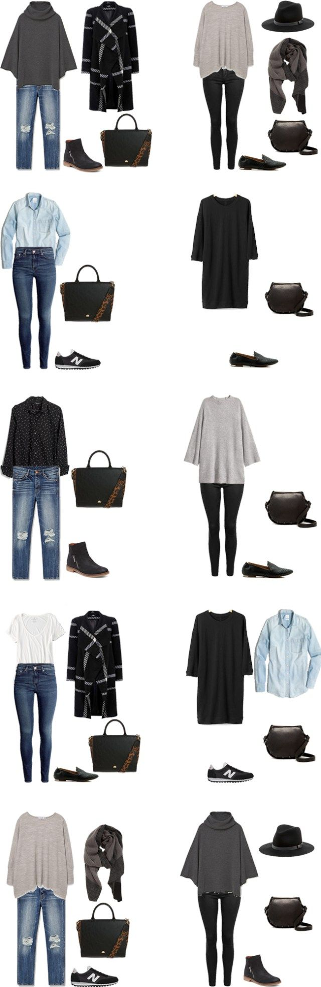 What to Wear on a trip to the Pacific Northwest Outfit Options 11-10…