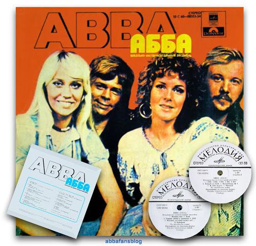 "The picture below show's the Russian release of Abba's ""Abba"" album from my collection... #Abba #Agnetha #Frida #Vinyl http://abbafansblog.blogspot.co.uk/2017/01/russian-abba-album.html"