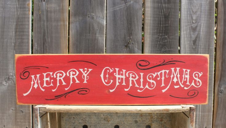 Merry Christmas made by The Primitive Shed, St. Catharines