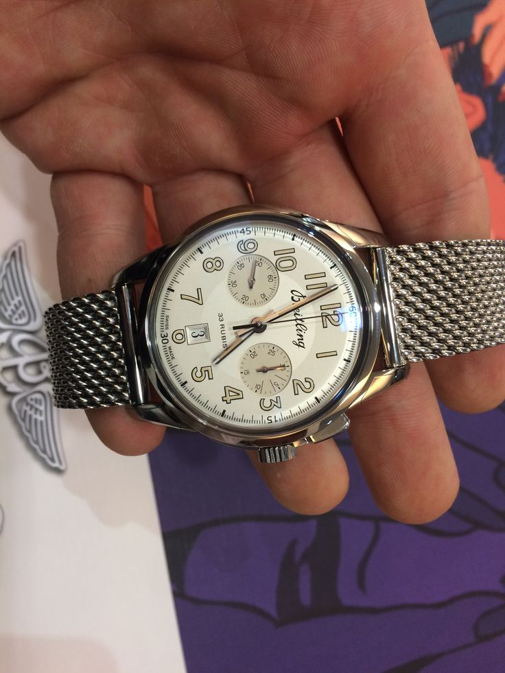 Breitling Transocean Chronograph 1915 limited edition