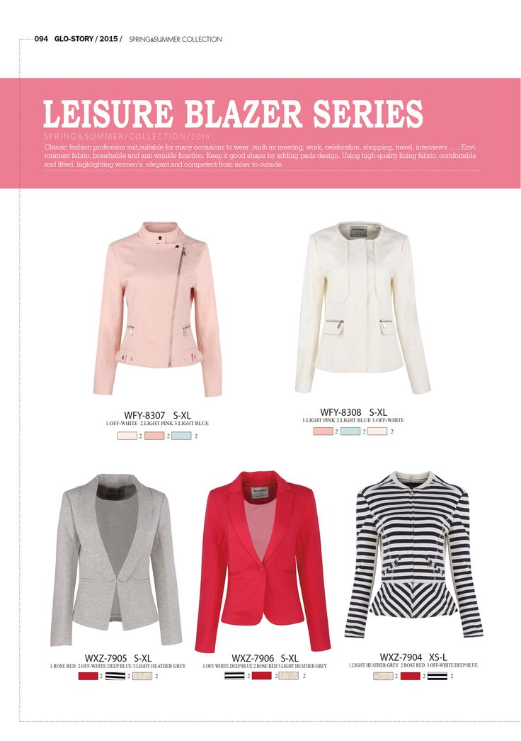 #forwomen #clothing #fashion #glostory #grey #jacket #blazer #hotpink #pink #grey #black #white