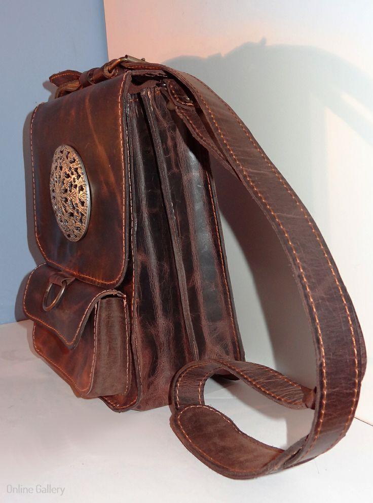 Geanta piele naturala #handmade #leather #bag