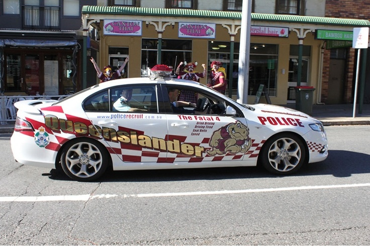 Queenslander Police Car