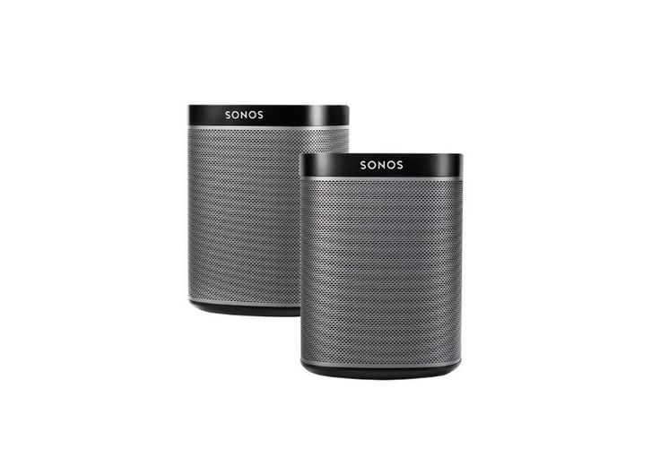 2 Pack Sonos PLAY Two-Room Starter Package for $299.98 at Bestbuy
