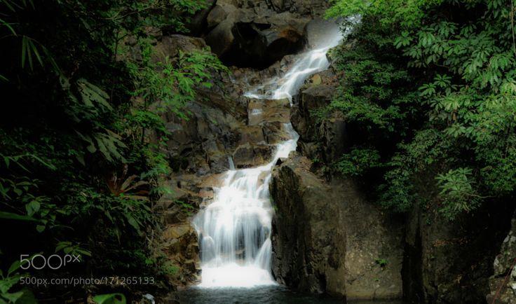 Nature is calling Phlio Waterfall Chanthaburi Thailand by tananya