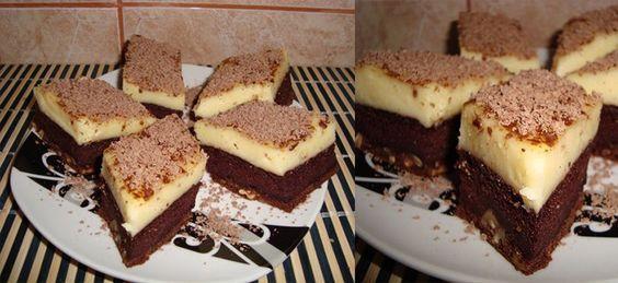 """Prajitura """"Visul unei nopti de vara""""! Rapida, ieftina si delicioasa! Familia ta se va bucura de gustul desavarsit! Ingrediente   Pt blat: – o cana nuca,(150-200 g ) – 7 oua – 7 linguri zahar – 7 linguri apa – 5 linguri faina, – 2 cacao – un plic praf de copt  Pt crema: – 2 budinci –"""