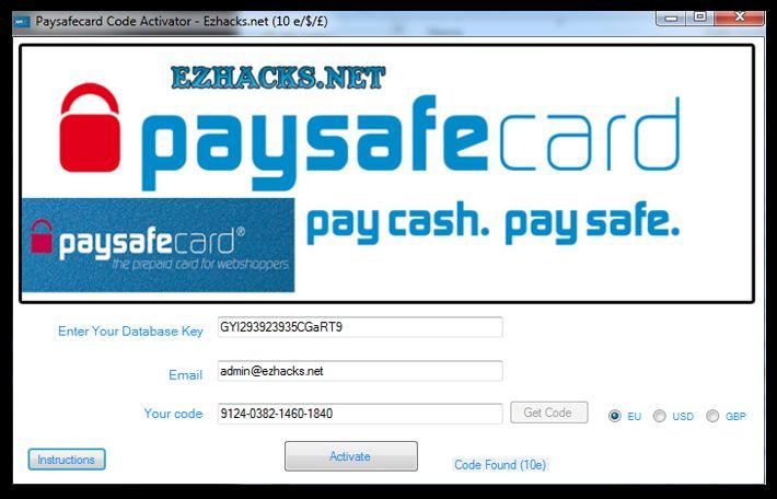 Free paysafecard code