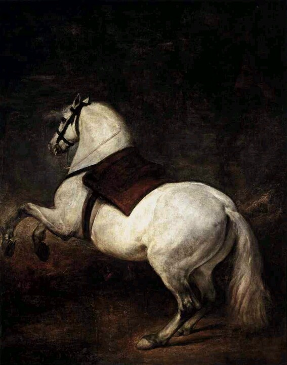 A White Horse by Diego Velasquez