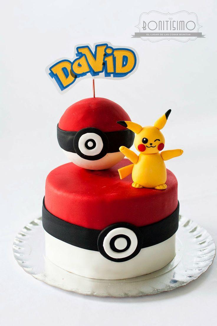 Bonitisimo: Tarta Pokemon Pokeball
