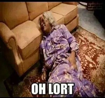 Oh Lort Madea - caption | Meme Generator