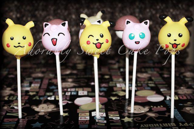 Pokemon Cake Pops By Adorablysweetcakepops Via Flickr
