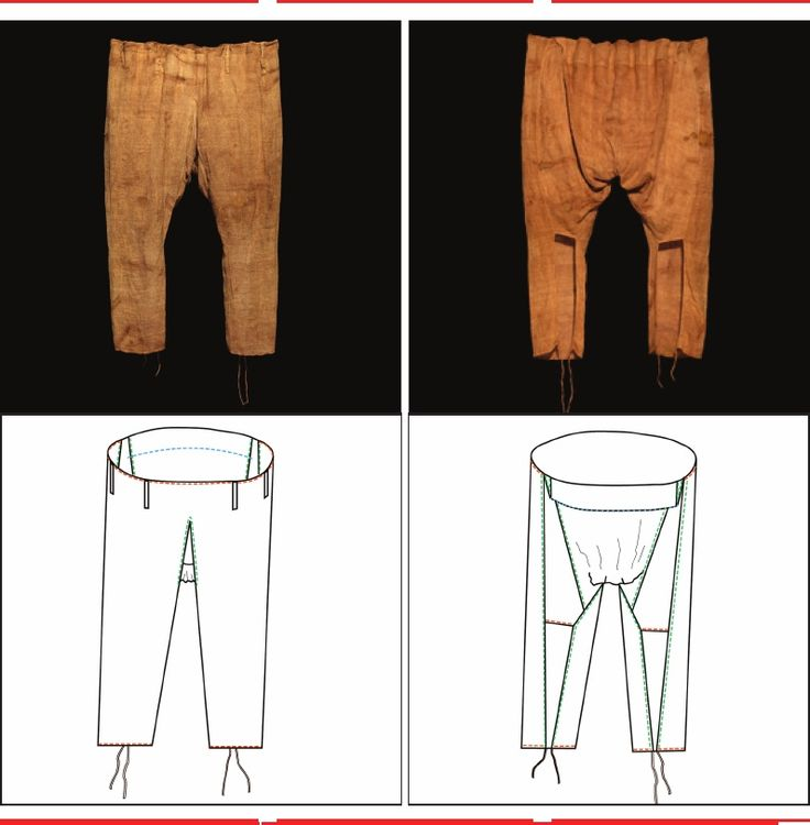 The pattern-cutting of linen trousers in Late Antiquity   Anne Kwaspen - Academia.edu