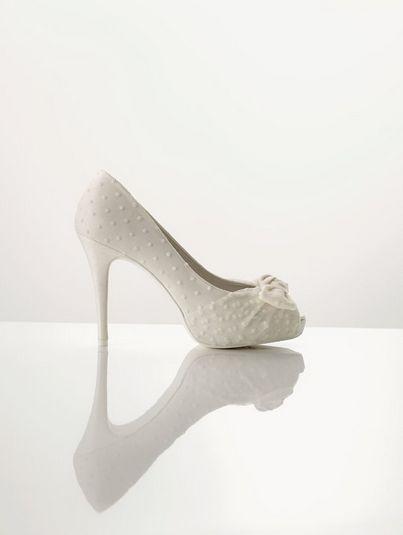Rosa Clará zapatos de novia 2012: Wedding, Polka Dots Wedding, Clará 2012, Wedding Shoes, The Tops, Pink, Bridal Shoes, Clara Shoes