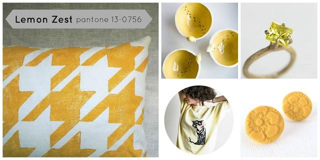 Lemon Zest and Linen | More Pantone Colors for Spring