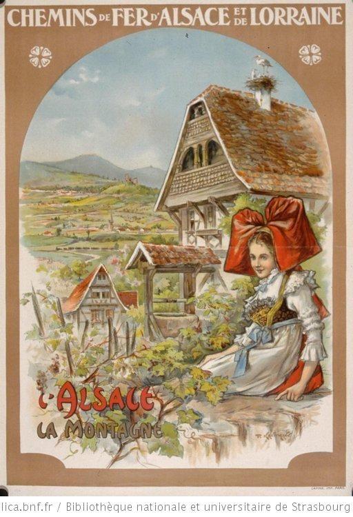 Chemins de fer d'Alsace et de Lorraine. L'Alsace, la montagne - 1