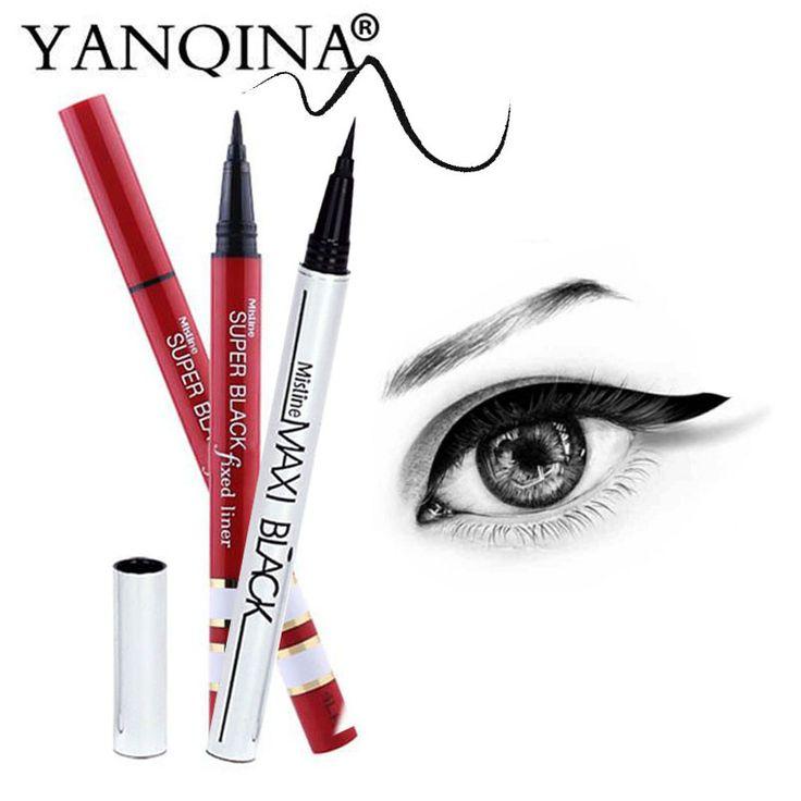 1PC New Black Waterproof Liquid Eyeliner Long-lasting Waterproof Eye Liner Pencil Pen Nice Makeup Cosmetic Tools 131-0228