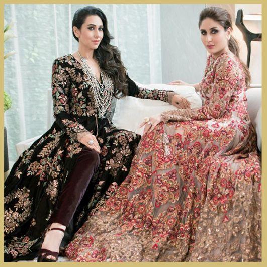Kareena Kapoor and Karisma Kapoor, Hello Magazine Cover, MyFashgram
