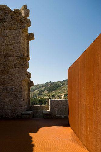 COMOCO arquitectos, Castelo Novo's Castle   Most precious natural landscapes.  Awesome!    #Travel #DanCamacho