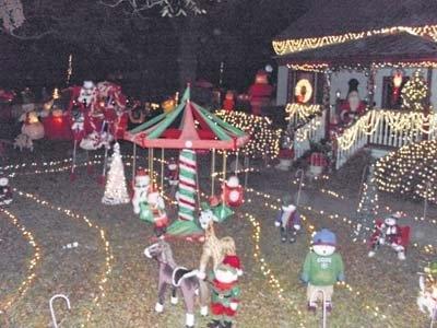Candy Cane Wonderland-- McColl, SC | Holiday decor ...