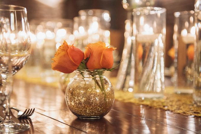 Maybe some small bud vases too.  Great Gatsby wedding inspiration | Jordan Weiland