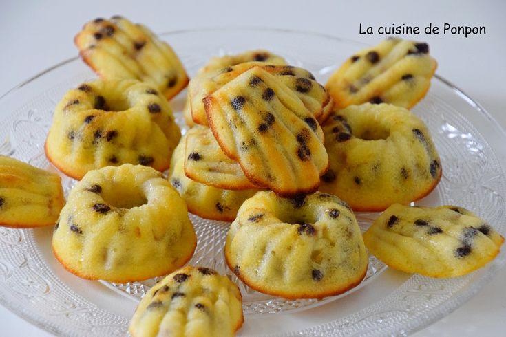 Fondant aux bananes et pépites de chocolat - La cuisine de Ponpon: rapide et facile!