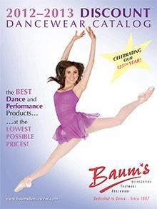 discount dancewear from Baum's Dancewear catalog