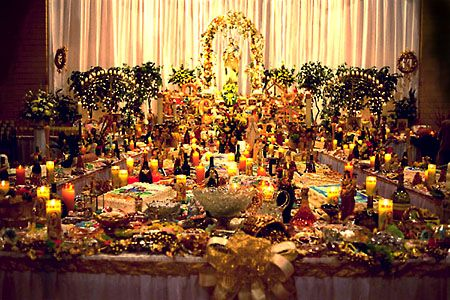 """The article """"St. Joseph's Day Altars"""" by Anna Maria Chupa that explains the history of St. Joseph's Altars"""
