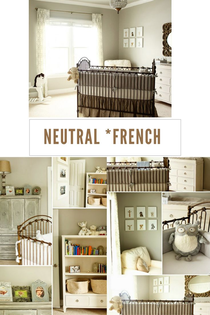 roomobaby blog: neutral *frenchy style nursery-get the look