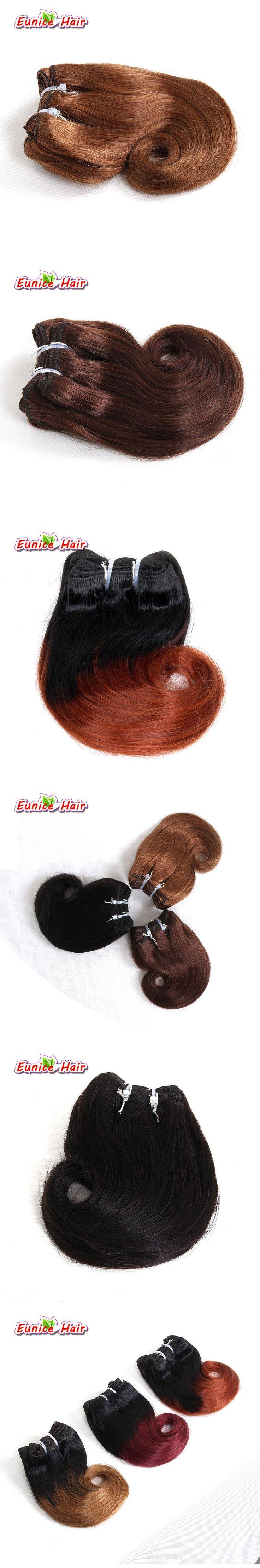 #1B #4 #30 Natural black Brazilian Weave Hair Burgundy 8'' Short Body Wave 4 Bundles Short Hair Weave Brazilian Hair Extension
