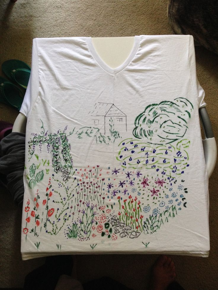 sharpie t shirt before