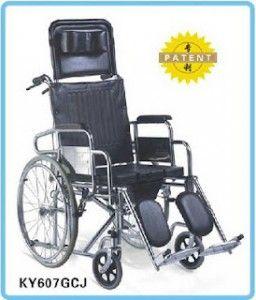 Kursi Roda Sella 3in1  Kursi roda Sella yang satu ini adalah jenis kursi roda multifungsi tipe 3 in 1 yang memiliki 3 fungsi, yaitu :  1. Sebagai tempat BAB (kursi roda yang bisa dijadikan tempat buang air besar)  2. Sebagai tempat rebahan (kursi roda ini bisa dijadikan sebagai tempat tidur dan selonjoran)  3. Sebagai kursi roda moving (fungsi dasar kursi roda sebagai alat bantu berjalan)