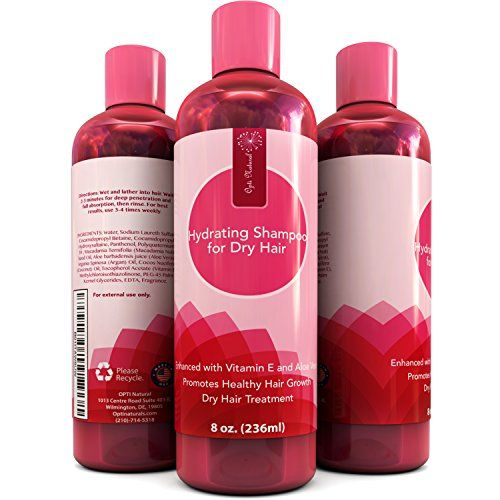 Shampoo For Flaky Scalp  Dry Hair  Suitable for Color Treated Hair  100 Natural  Vitamin E  Argan Oil  Natural Hair Treatment for Men  Women  8 oz  Made in the US by Opti Natural *** Want to know more, click on the image.Note:It is affiliate link to Amazon.