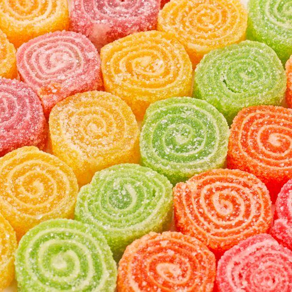 #ColourfulCandies - Flavoured Rolled Candies.