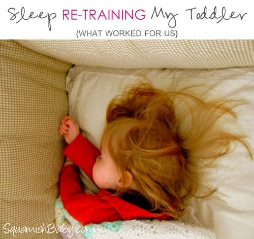 Toddler Sleep Training.