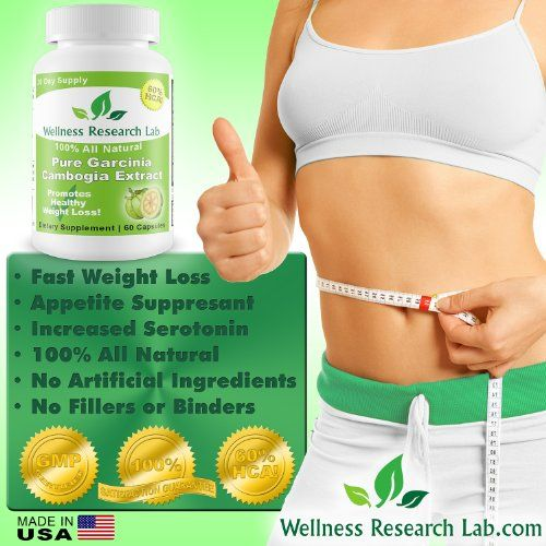 Wellness Research Lab Premium Garcinia Cambogia (With 60% HCA) Extract