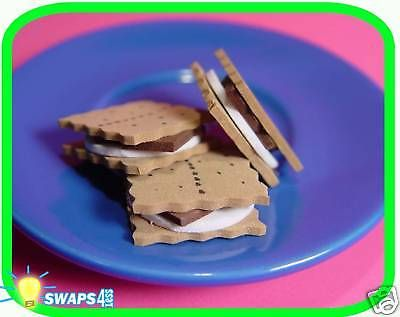 """Mini Smores!  """"Girl Scout"""" or """"Boy Scout"""" SWAPS  Craft Kit  by Swaps4Less.com"""