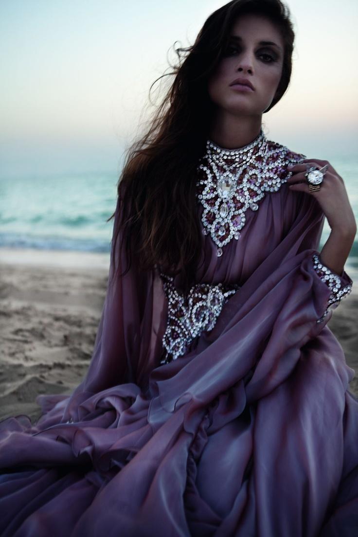 Jalabiya by Kanzi, Ring by Melinda Looi made with SWAROVSKI ELEMENTS