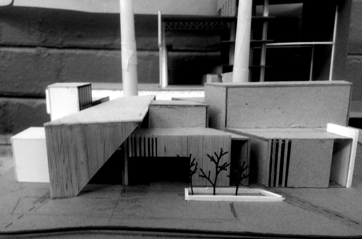 Thesis, University of the Free State, Bloemfontein, South Africa. Jaco Willemse: Industrial design school in old powerstation, Bloemfontein