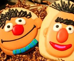 Bert & Ernie Cookies