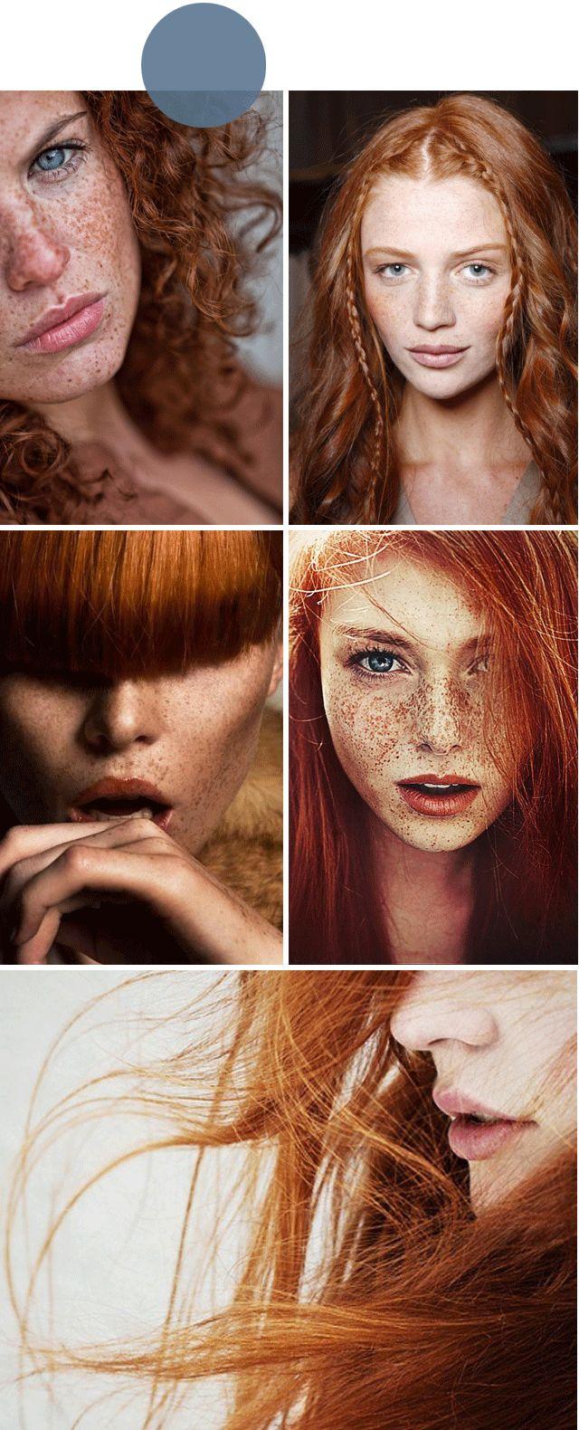 Cintia Dicker # Red hairs