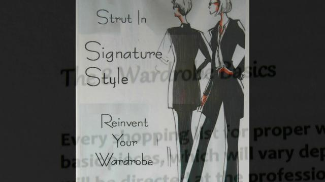 Andrea Wardrobe Introduction VIDEO    Andrea Ward introduces you to what it means to Strut in Your own Signature style!