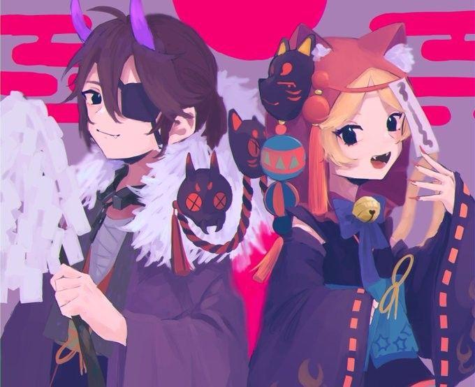 luca x tracy festivial in 2021 identity anime fan art