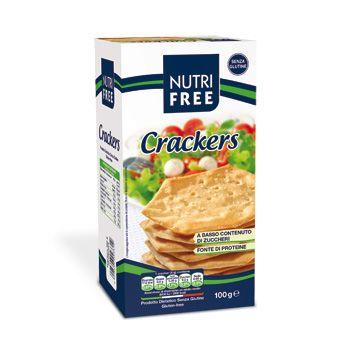 Nově v prodeji bezlepkové krekry od Nutrifree! Doporučujeme podávat s lehkým jarním salátkem!