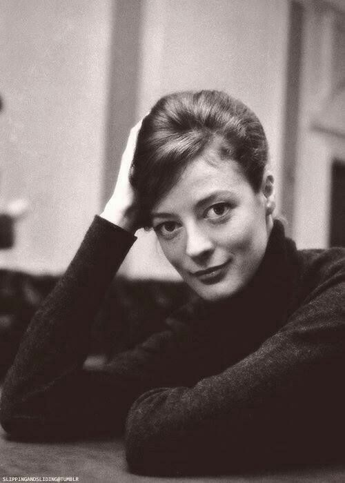 A young Maggie Smith,  tell-tale googly eyes