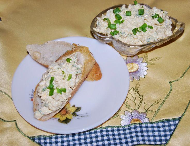 O kuchni z uczuciem : Pasta jajeczna ze szczypiorkiem.