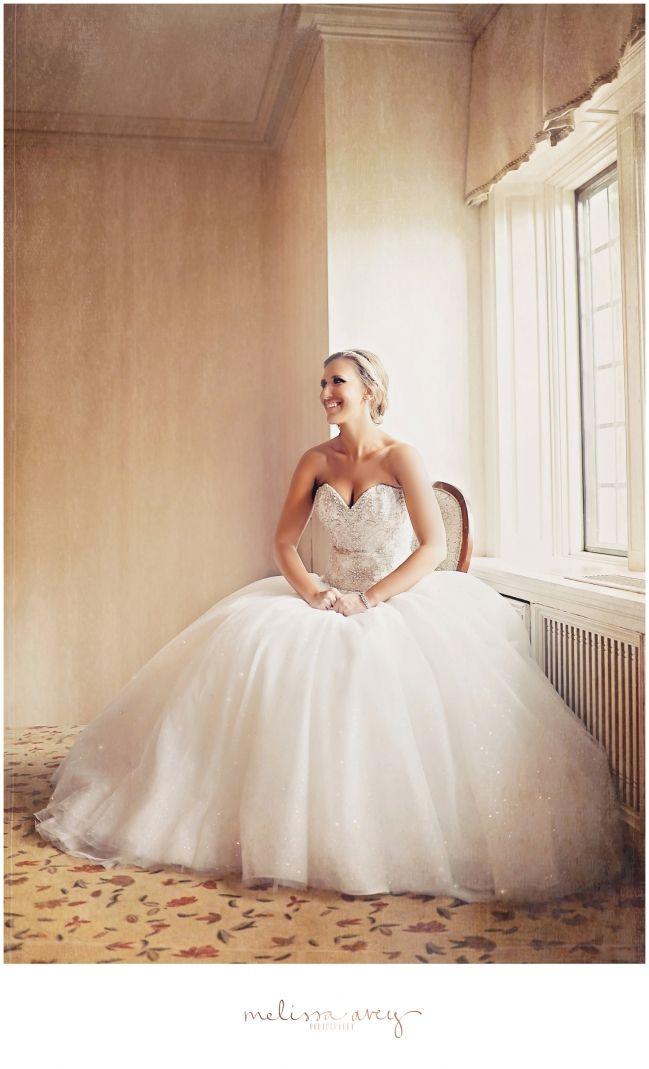 Fairytale Wedding - Fairytale wedding dress - bride at Sunnybrook Estates - Melissa Avey Photography #fairytale #wedding #bride #dress