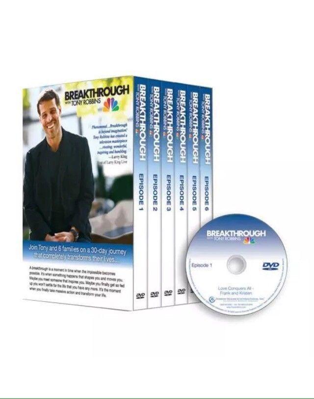 Sealed Anthony Tony Robbins Breakthrough Dvd Set Brand New Tonyrobbins Breakthrough Anthonyrobbins Success Tony Robbins Breakthrough Tony