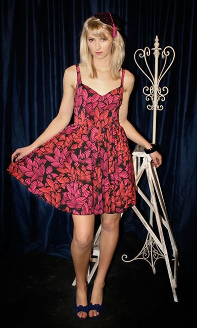 Two-Can Dress - Pink Tropical